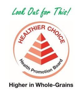 Healthier Choice Symbol higher in wholegrains