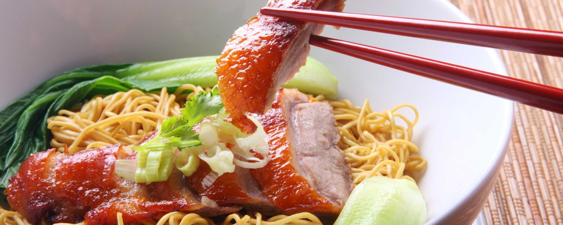 manage portions- pork noodles