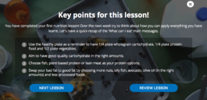 lesson summary glycoleap lessons