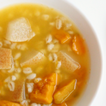 Pumpkin, Pear and Barley Sweet Soup