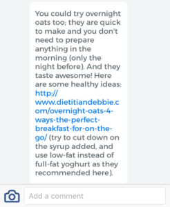 glycoleap dietitian feedback