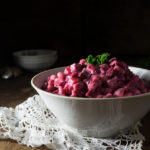 creamy beetroot salad