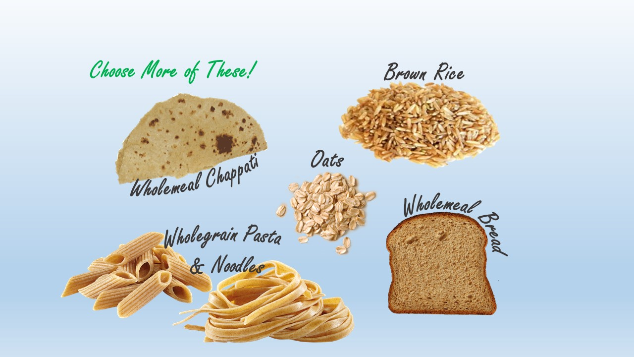 Foods That Contain High Amounts Of Carbohydrates
