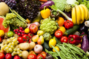 a variety of fruit and vegies are good for diabetes skin health