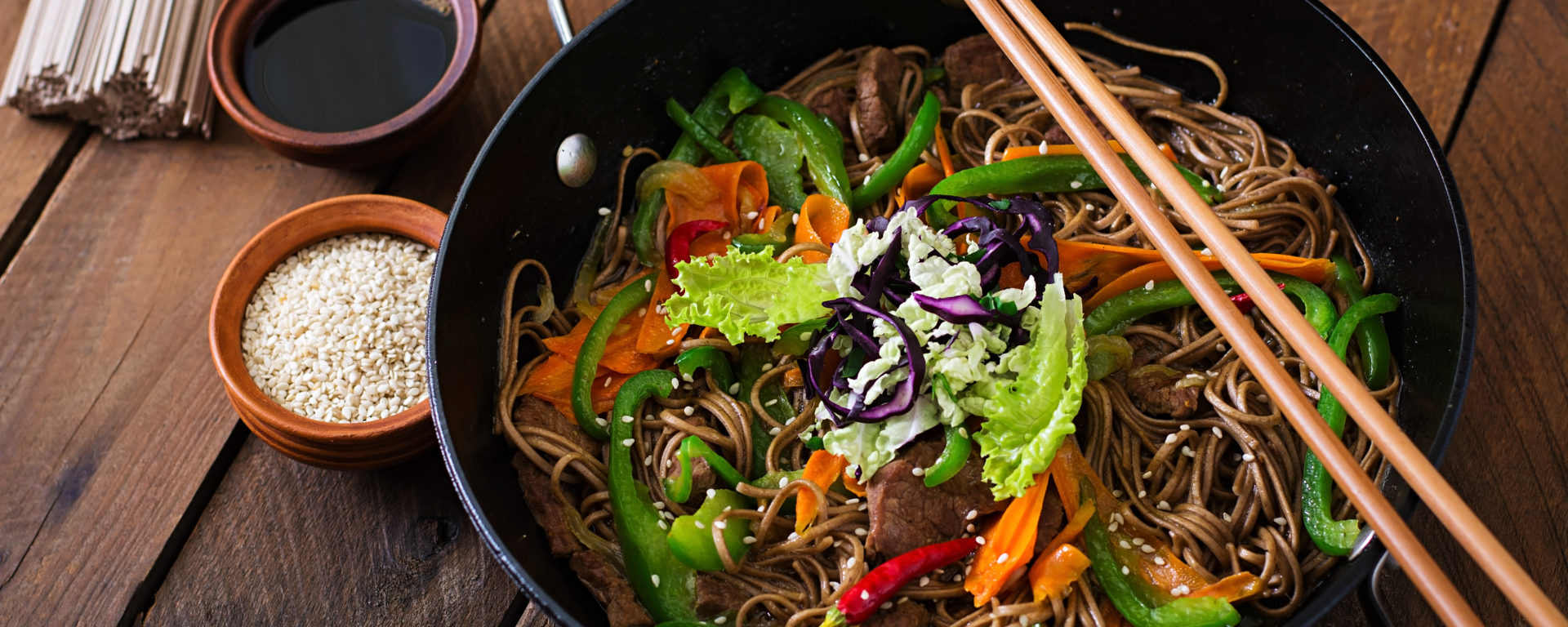 Chicken and vegetable buckwheat noodles glycoleap smart coach for diabetes forumfinder Image collections