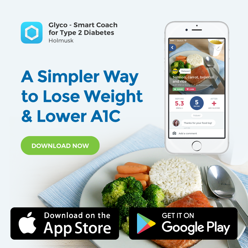 Lose weight and improve your glucose with our mobile app