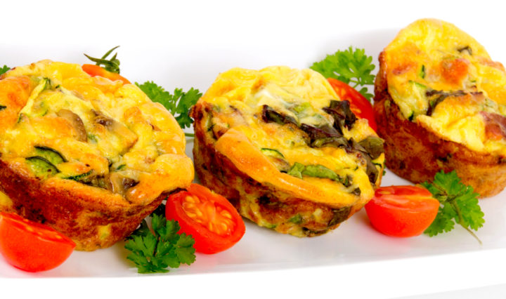 Egg Spinach Muffin
